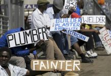 South Africa records highest unemployment rate in modern times