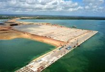 Lamu Port first berth now 100% complete