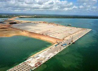 Lamu Port first berth now 100% complete