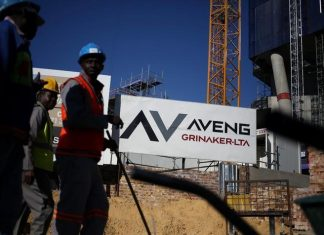 South Africa Construction firm Aveng blames weak domestic market for losses