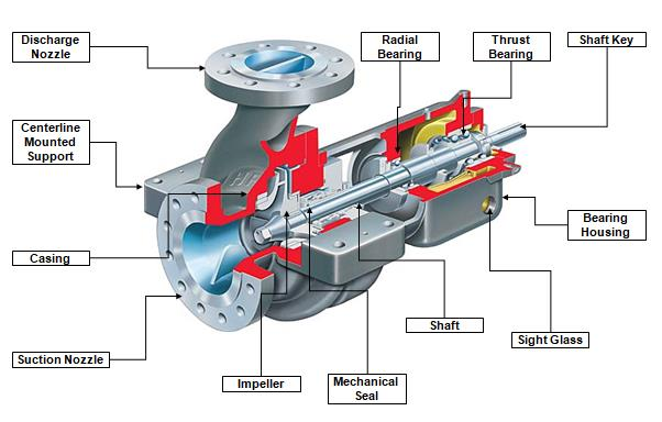 How centrifugal pumps work with video