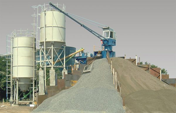 How a concrete batching plant works
