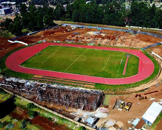 Construction of Kipchoge Keino Stadium heads for completion