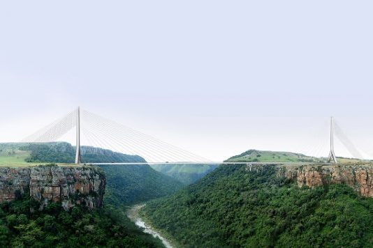 Msikaba bridge construction in South Africa resumes