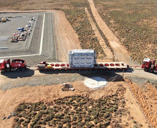 South Africa's Perdekraal East Wind Farm gets locally manufactured transformer