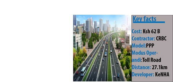 Nairobi Expressway construction picks momentum