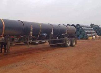 Massive gas pipeline Ajaokuta–Kaduna–Kano pipeline