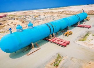 Dangote refinery construction hits home stretch