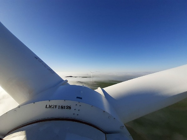 First turbine of Goldwind Excelsior wind farm connected to grid