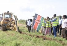 Kenya begins construction of 630 km high speed fibre optic cable