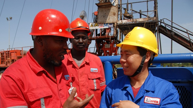 Number of Chinese construction workers in Africa diminishing-report