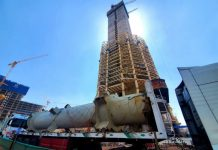 Egypt's Iconic Tower construction now at 250 meters