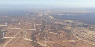 Newly construction Perdekraal East Wind Farm nears operation