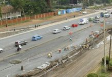 Phase 3 of Ngong Road dualling nears completion