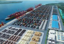 Quay wall construction begins on Lekki Deep Sea Port