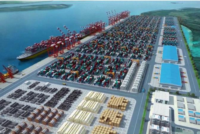 Quay wall construction begins on Lekki Deep Sea Port