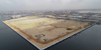 Construction begins for the new Ivory Coast Container Terminal