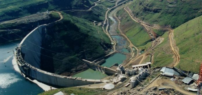 Lesotho Highlands Water Project construction picks momentum