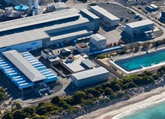 Africa's largest seawater desalination plant