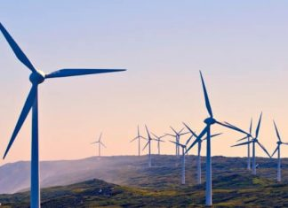 Newly constructed Nxuba wind farm ready for energy generation