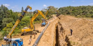 Narok county installs Weholite Pipes for its sanitation system