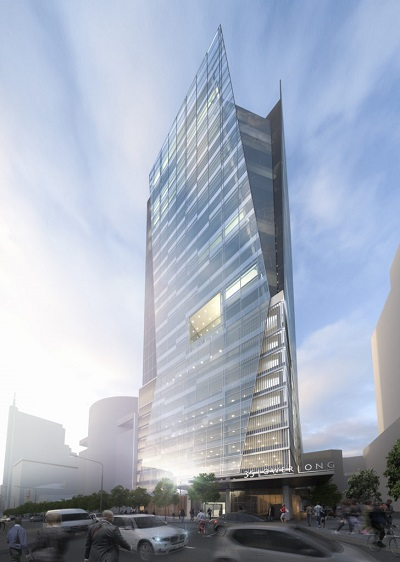 A look at the newly completed 35 Lower Long tower in Cape Town