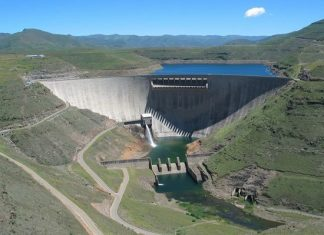 Lesotho Highlands Water Project now to be operation in 2027