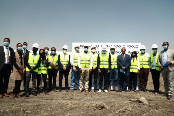 Raxio Kicks Off Construction of Data Centre in Addis Ababa