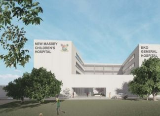 Largest Children's Hospital in West Africa begins construction