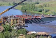 Senqu Bridge construction contract kicks off