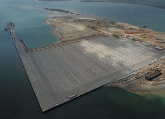 Newly constructed Lamu port opens for business