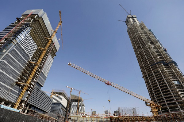 Chinese firm says concrete structure for Iconic Tower complete