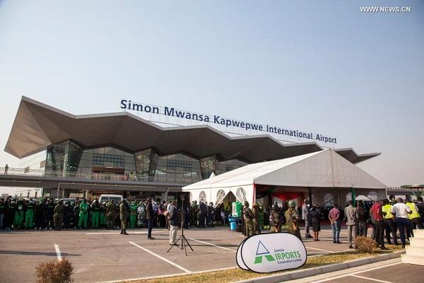 Zambia commissions China-funded modern airport Mwansa Kapwepwe