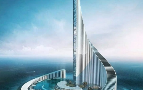 Zanzibar Domino Commercial Tower could be africa's second tallest skyscraper